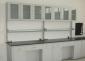 供应广州实验室试验台吊柜